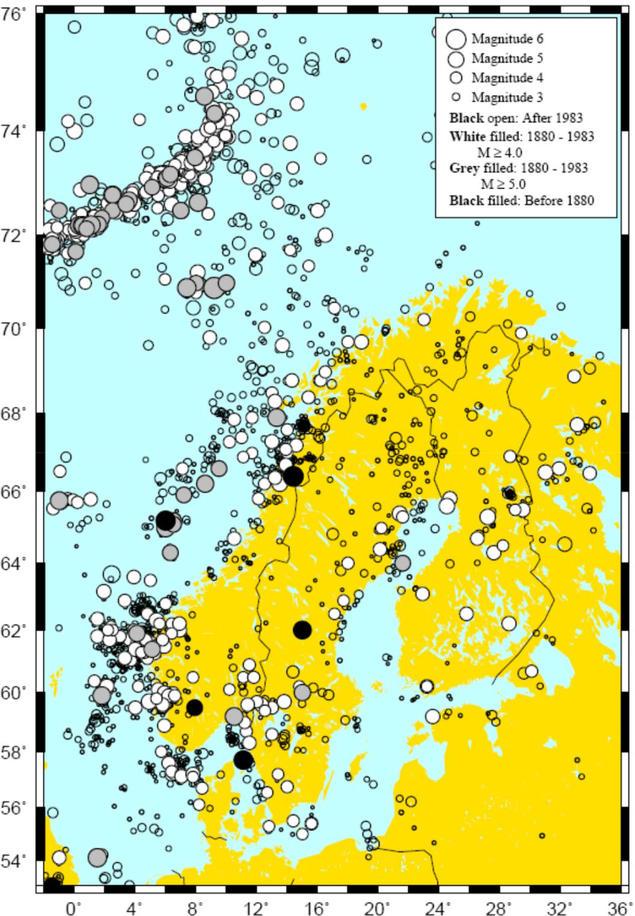 Jordskjelv i Norge