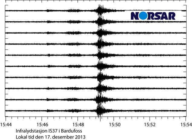 Infralydbølger fra IS37
