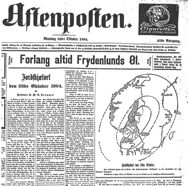 Aftenposten 1904
